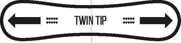 twin tip